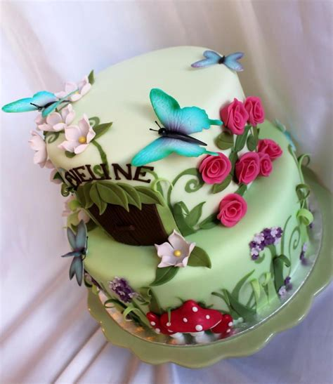 Fairy Garden Cakes Cake Decorating Daily Inspiration In The Garden Cake Ideas