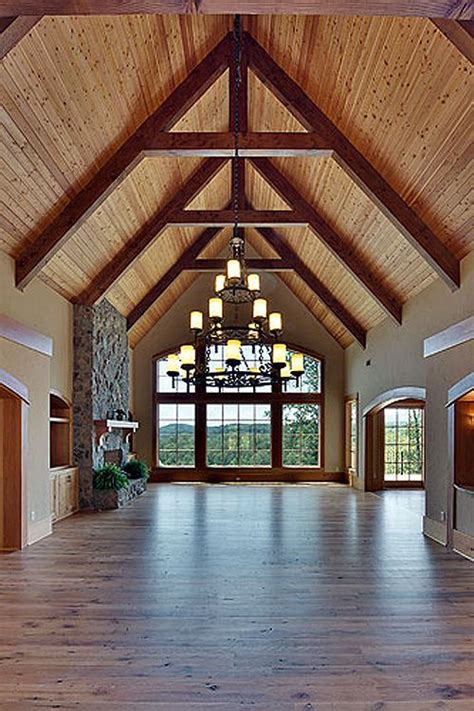 Pin By Jamie Ruppert On Dreaming Of Building Pinterest House Plans With Cathedral Ceilings