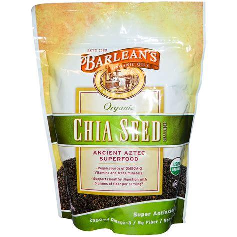 Organic Chia Seed barlean s organic chia seed supplement 12 oz 340 g iherb