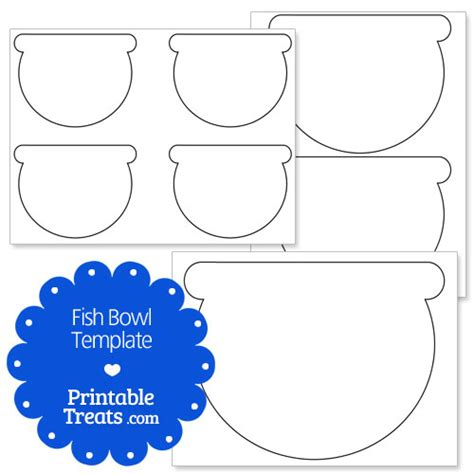 Fish Bowl Card Template by Free Coloring Pages Of Fish Bowl Cut Out