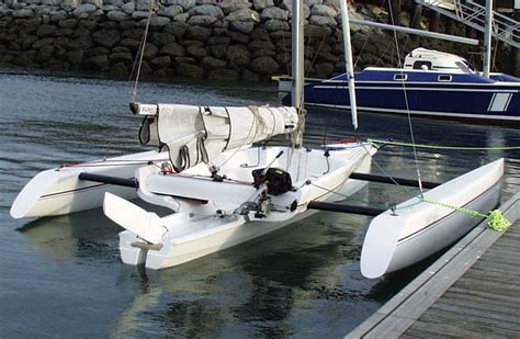 trimaran for sale seattle kurt hughes multihull design catamarans and trimarans