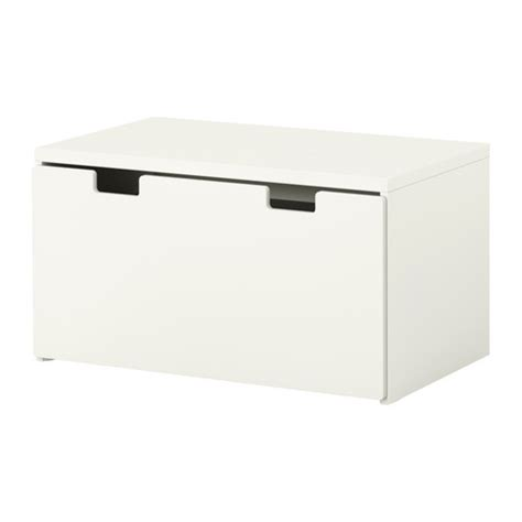 stuva storage bench white white ikea