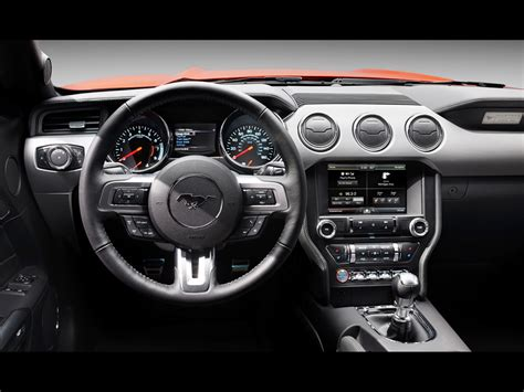 interior of mustang 2015 2015 ford mustang interior 5 1024x768 wallpaper