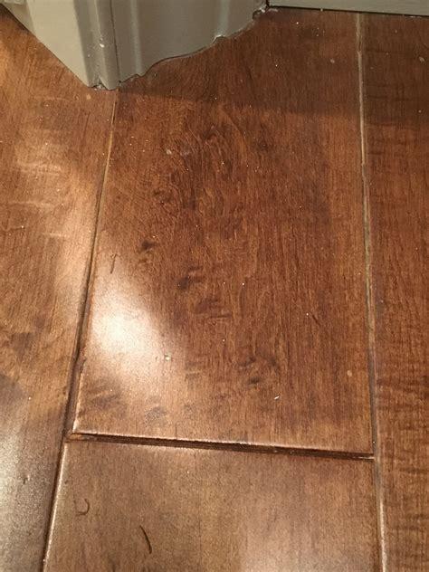 Wood floor install   gaps/putty ok? (hardwood, humidifier