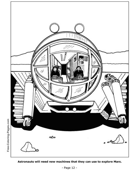 space shuttle coloring pages 12