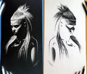 skull tattoos drawings yolandi visser sketch drawing by dino tomic no 2058
