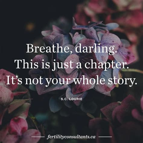 This Is Not Your Story wisdom quotes breathe this is just a chapter