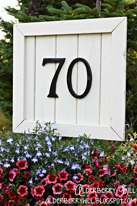 House Number Sign by House Number Signs Bbt