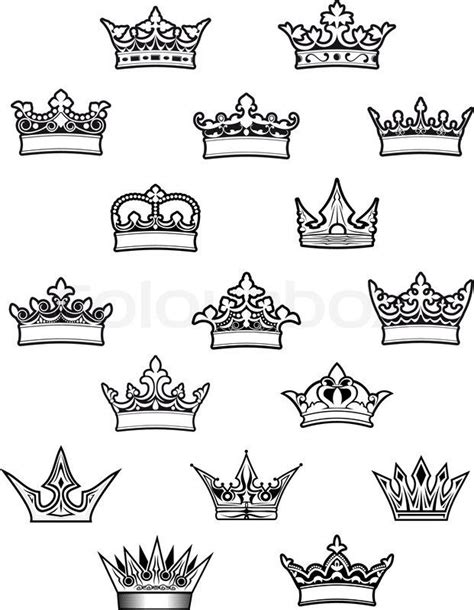 download free princess crown outline tattoo 16 queen crown