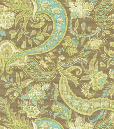 home decor print fabric waverly rhapsody mineral jo