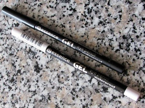 Eye Pencil Cloudy by Essence Gel Waterproof Eye Pencils 01 Black Blaze 07