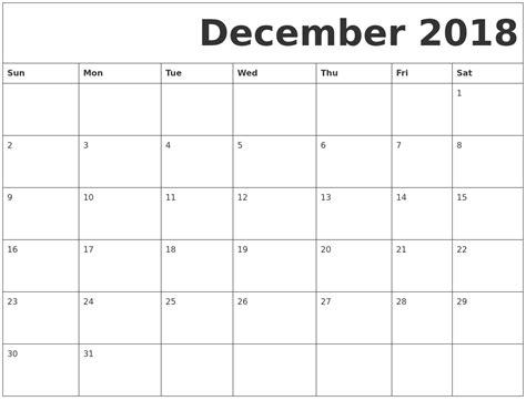 printable calendar 2018 january to december january 2019 printable calendars