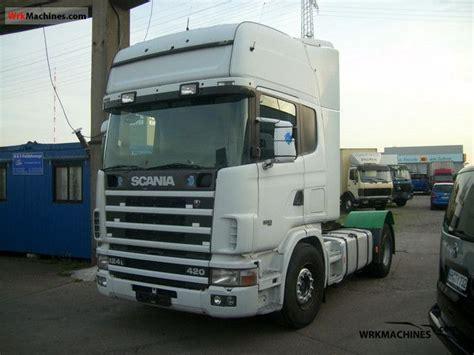 scania 4 series 124 l 420 2000 standard tractor trailer