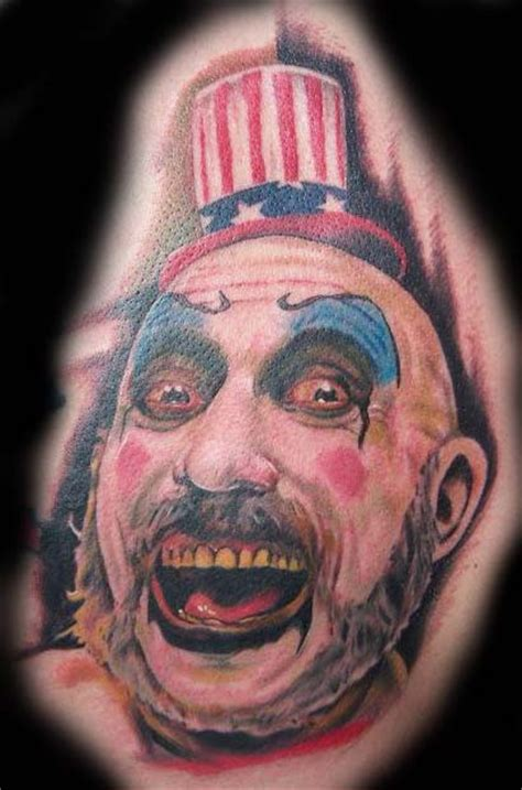 captain spaulding tattoo captain spaulding by steviemonie on deviantart
