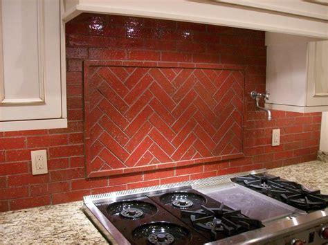 brick tile backsplash kitchen kitchen brick backsplash tile ideas and installation