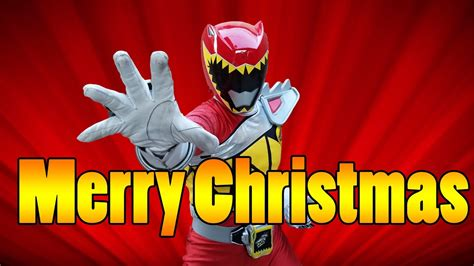 power rangers dino charge merry christmas nicholas youtube