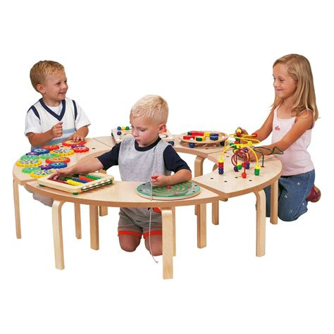 table for children s room circle of children s play table waiting room play