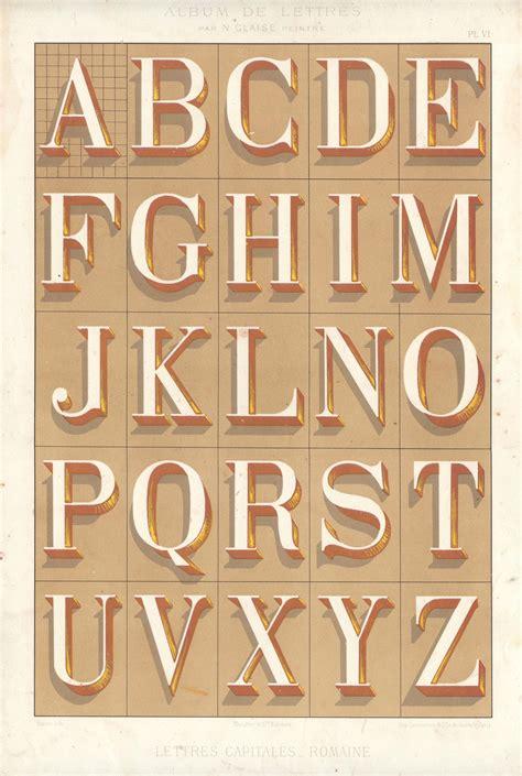 lettere romane n glaise