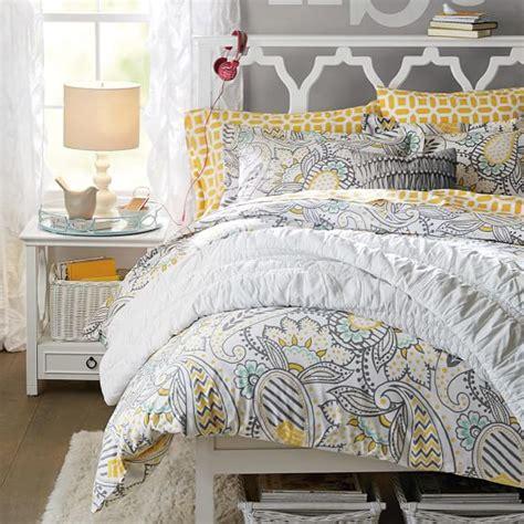 pbteen comforters ana paisley duvet cover sham pbteen