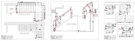scale per interni dwg scale interne scale a sbalzo realizzazioni alfa scale