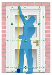 Normal Interior Door Size Measuring Guide For Doors And Frames