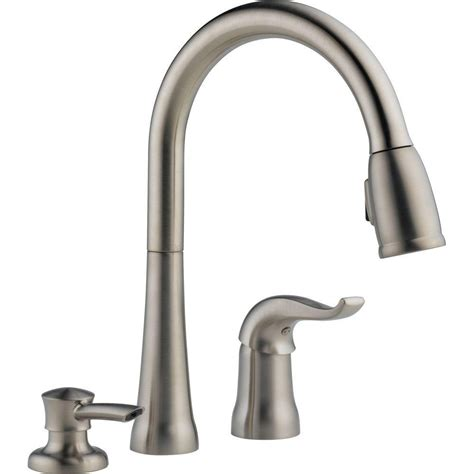 delta kate kitchen faucet delta kate kitchen faucet stainless