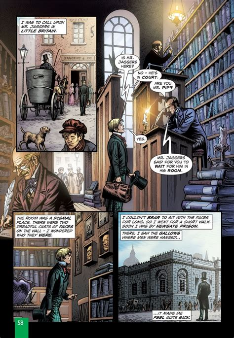The Is In A Novel great expectations graphic novel paperback classical