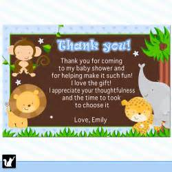 Thank You Note To Infant Animal Thank You Quotes Quotesgram