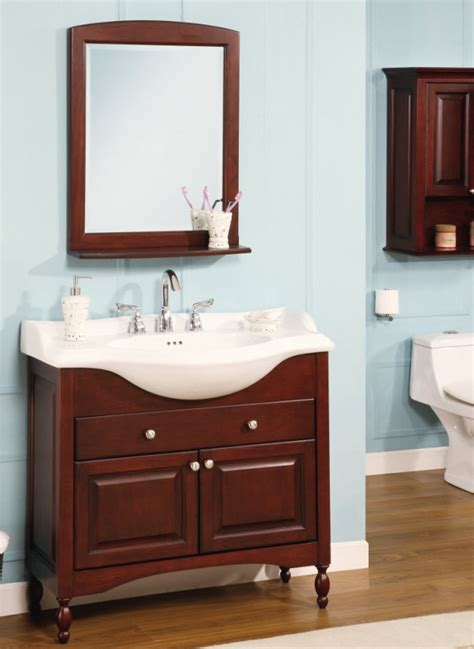 38 Inch Bathroom Vanity 38 Inch Single Sink Narrow Depth Furniture Bathroom Vanity With Narrow Bathroom Vanities In