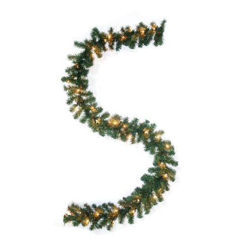 9 ft timberline pine christmas garland barcana