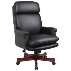 leather office chair black leather executive chair review office architect