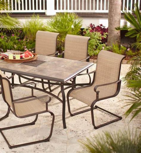 Hampton Bay Belleville Rectangular Patio Dining Table