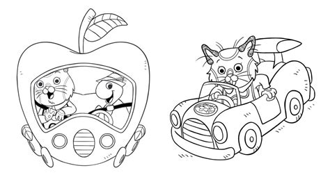 Richard Scarry Coloring Pages To Download And Print For Free Richard Scarry Coloring Pages