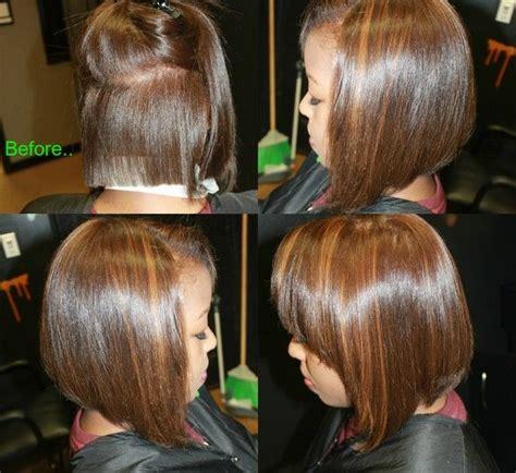 two toned diagonal forward cut diagonal forward haircut by janae miller jana 233 miller