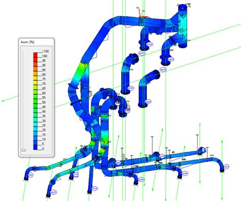 Pipe Stress by Rohr 2 Pipe Stress Calculation Engineering Schatz