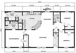 3 Bedroom 2 Bath 1 Story House Plans 3 Bedroom 2 Bath Ranch Floor Plans
