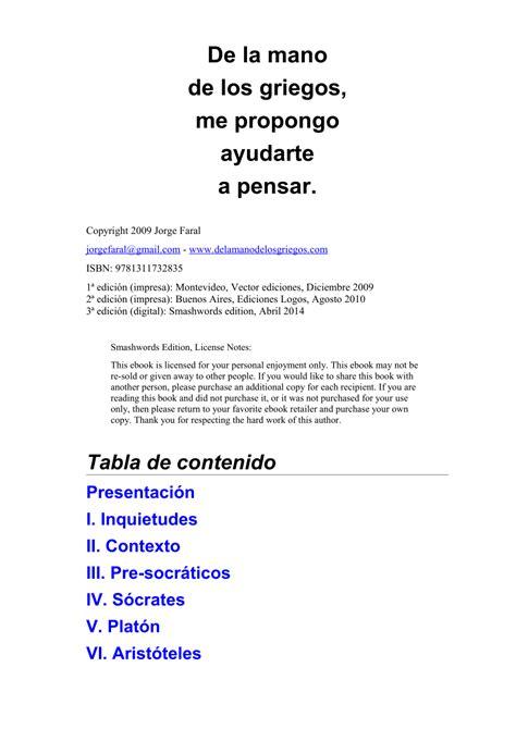 el libro de la filosofia big ideas simply explained gratis libro pdf descargar pdf de la mano de los griegos aprendemos a pensar introducci 243 n a la filosof 237 a