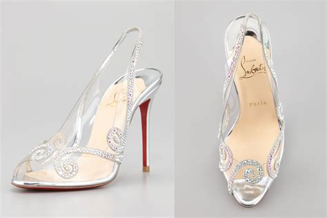 glass slipper shoes illusion wedding shoes for 2013 brides glass slipper