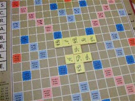 can you use slang in scrabble stick to the scrabble tiles and play