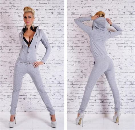 Blue Casual Leisure Sml Jumpsuit black gray romper buttons hooded jumpsuit macacao feminino summer bodysuit roupas