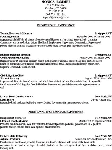Page Numbers On Resume Example by College Transfer Student Resume Sample