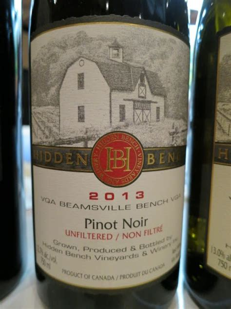 bench pinot noir 2011 february 2016 archive vintages wine picks reviews