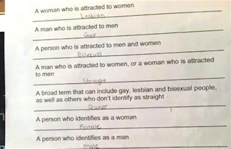 hairstyles for school orientation lgbt vocabulary quiz upsets middle schooler s mother san