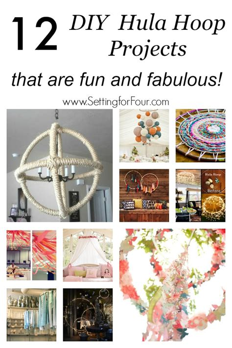 Diy Home Decor Projects On A Budget 12 Diy Hula Hoop Projects That Are Fun And Fabulous