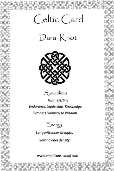 knot design definition dara knot celtic card celtic symbols pinterest