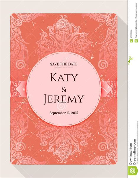 vintage save the date card templates vintage grunge vector card template save the date