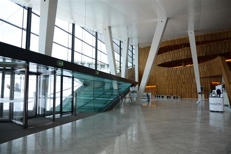 Oslo Opera House Interior by Oslo Opera House In Oslo Thousand Wonders