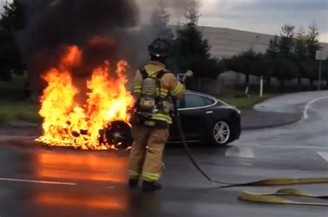 Tesla Model S Fires Tesla Model S Page 2 Of 5 The About Cars