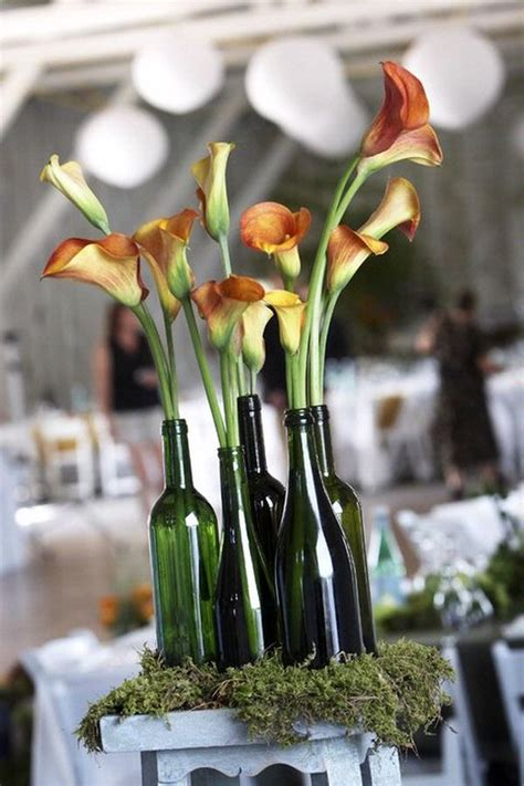 wine bottle centerpieces 24 stunning wine bottle centerpieces you never thought could complement a special event