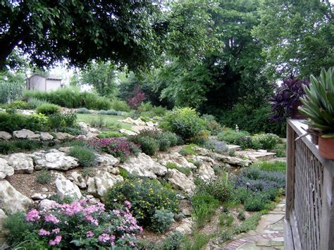 garden and lanscape idea landscaping a hillside pictures
